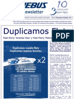 11_2 Buquebus Monthly Newsletter Nov 2006