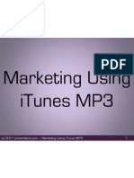 JomarHilario_Marketing Using iTunes MP3 Prez