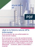Historia Natural de la Enfermedad. presentación