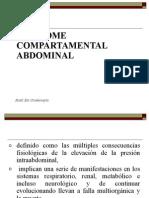 Sindrome Compratimental Abdominal