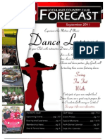 The Lockland Country Club Forecast September 2011