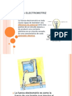 Fuerza Electromotriz y Voltaje