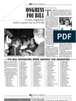 14th Congress Kills FOI Bill
