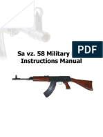Sa VZ58 Operators Manual