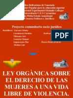 LEY ORGÀNICA SOBRE EL DERECHO DE LAS MUJERES 2