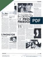 The Writ of Habeas Da in Defense of Press Freedom (Apr. 2008)