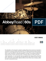 Abbey Road 60s Drums Manual