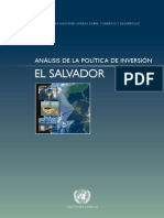 Analisis de Inversion El Salvador de Unctad