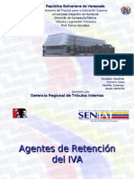 SENIAT Agentes de Retencion Del IVA Contribuyentes Especiales