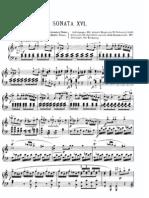 Mozart Piano Sonata K 310