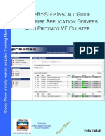 Step-By-Step Install Guide Enterprise Application Servers with Proxmox VE Cluster