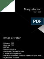 Maquetación CSS