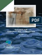 CALTRANS Temp Soil Stabilization Guide