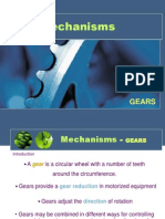 Mechanisms Lesson 3 Gears 2011 Part 1