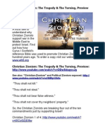 Christian Zionism- The Tragedy and the Turning - Preview