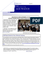 Youth Movement FEATURE in AGEwatch - CA Commission on Aging 2011