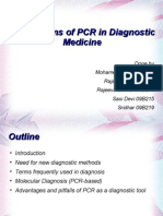 PCR in diagnostic medicne