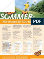 Sommeraktionstage der CDU Rems-Murr