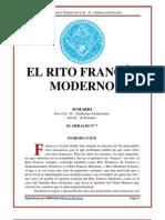 El Rito Frances Moderno Por Guillermo Fuchslocher