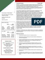 Mdgc Fact Sheet