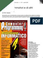 Dei programmatori e di altri dèmoni