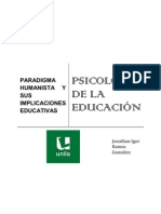 Paradigma Humanista y Sus Implicaciones Educativas