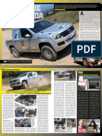 Test Racing Volkswagen Amarok T1 MotorAccion Magazine sept 2011