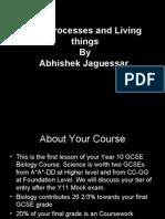 Life Processes by Abhishek Jaguessar