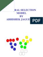 Natural Selection Model by Abhishek Jaguessar
