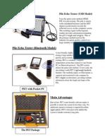 Pile Integrity Tester provider in  delhi 7428424386