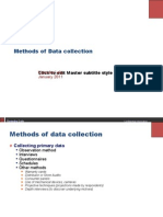 06 Data Collection & Analysis