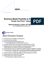 Disruptive Analysis - The threat from UTF (Under the Floor) Players