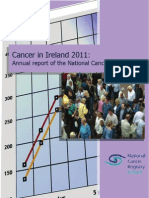 Cancer Report Ireland shows 50 percent rise in new cases since the 1990's