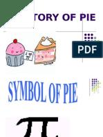 History of Pie