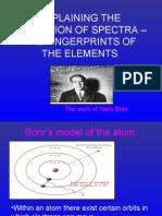 Explaining Spectra - Fingerprints