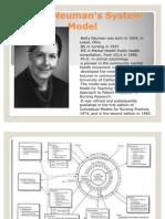 Betty Neuman's System Model
