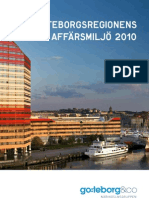 Göteborgsregionens affärsmiljö 2010