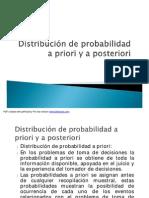 Distribucion a Priori y Posteriori