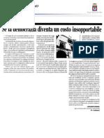 04 Democrazia Costo Corgiorno 01 Set 2011