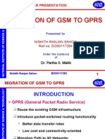 Migration of Gsm to Gprs