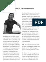 Dr. Daniel Fischer Ernaehrungsplan Baby Food Interview in Jahreszeitenblätter Winter_2010