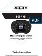 POD HD Advanced Guide (Rev a) - French