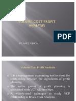 ANUJ NIJHON-Volume Cost Profit Analysis