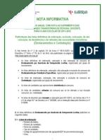 Nota Informativa - Contratacao 2011.Ago.31