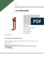Core Cutting Machine provider in delhi 7428424386
