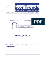 Electric Power Generation, Transmission and Distribution - Q4, 2010_ISI