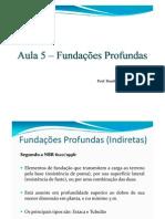 Aula 5 - ASC - Fundações Profundas