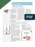 Acoso Escolar Newsletter