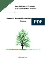 Manual de Normas Técnicas de Arborização Urbana