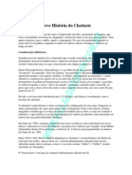 Breve Historia Do Clarinete